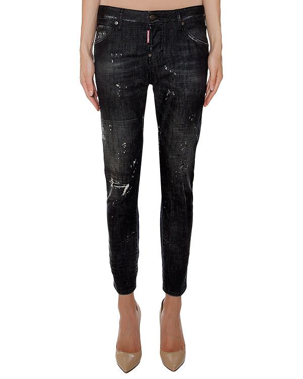 женская джинсы DSQUARED, сезон: зима 2016/17. Купить за 36400 руб. | Фото 1