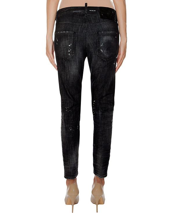 женская джинсы DSQUARED, сезон: зима 2016/17. Купить за 36400 руб. | Фото 2
