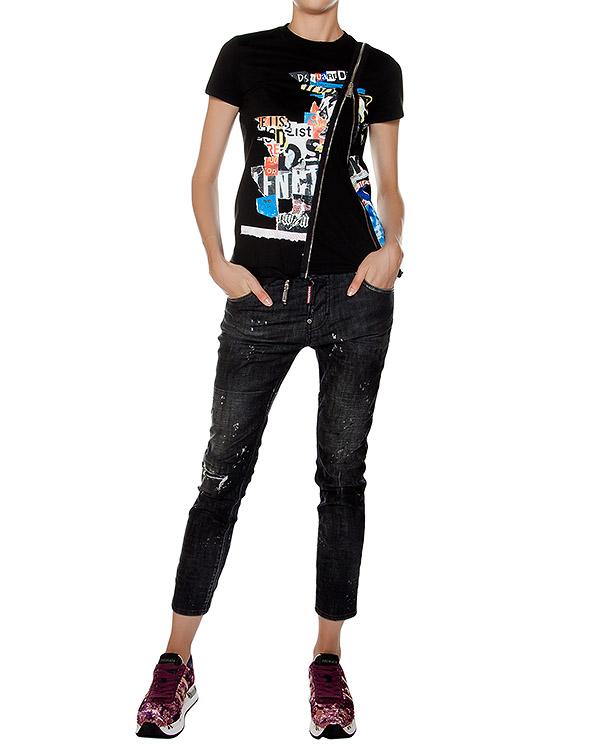 женская джинсы DSQUARED, сезон: зима 2016/17. Купить за 36400 руб. | Фото 3