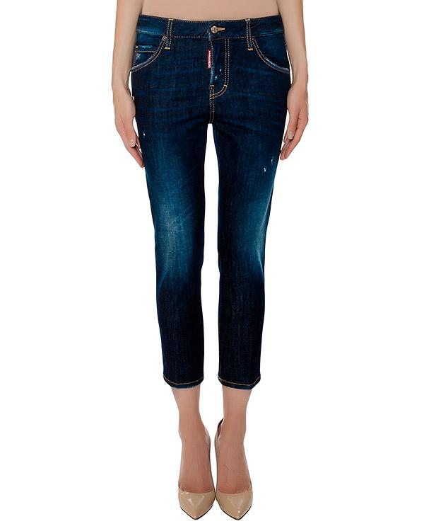 женская джинсы DSQUARED, сезон: зима 2016/17. Купить за 24600 руб. | Фото 1