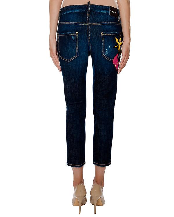 женская джинсы DSQUARED, сезон: зима 2016/17. Купить за 24600 руб. | Фото 2