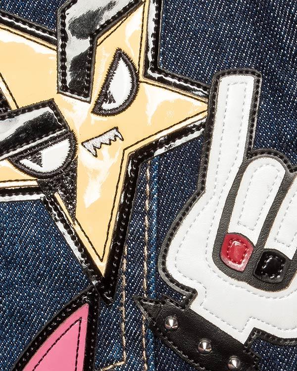 женская джинсы DSQUARED, сезон: зима 2016/17. Купить за 24600 руб. | Фото 4