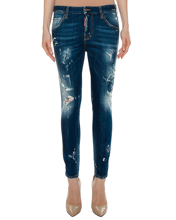 джинсы  артикул S75LA0844 марки DSQUARED купить за 29100 руб.