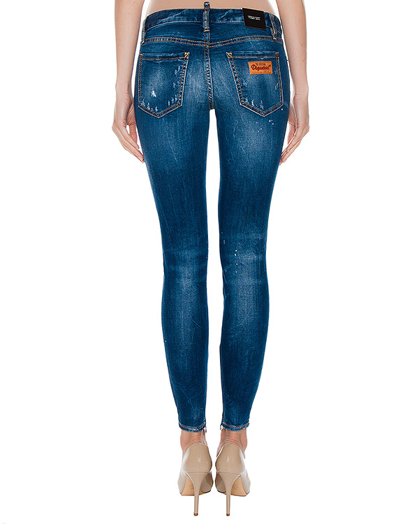 женская джинсы DSQUARED2, сезон: лето 2017. Купить за 19700 руб. | Фото $i