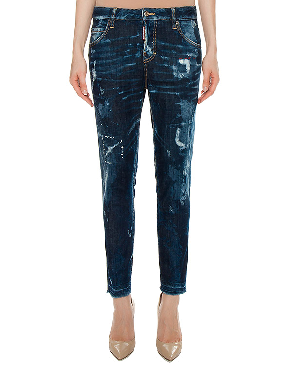 джинсы  артикул S75LA0891 марки DSQUARED купить за 19600 руб.