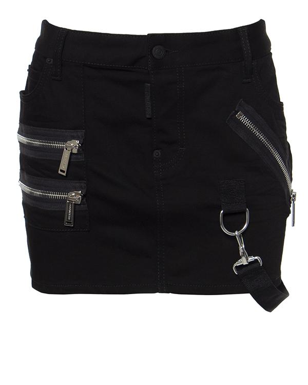 женская юбка DSQUARED2, сезон: зима 2016/17. Купить за 26200 руб. | Фото 1