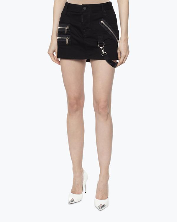 женская юбка DSQUARED, сезон: зима 2016/17. Купить за 37400 руб. | Фото 3