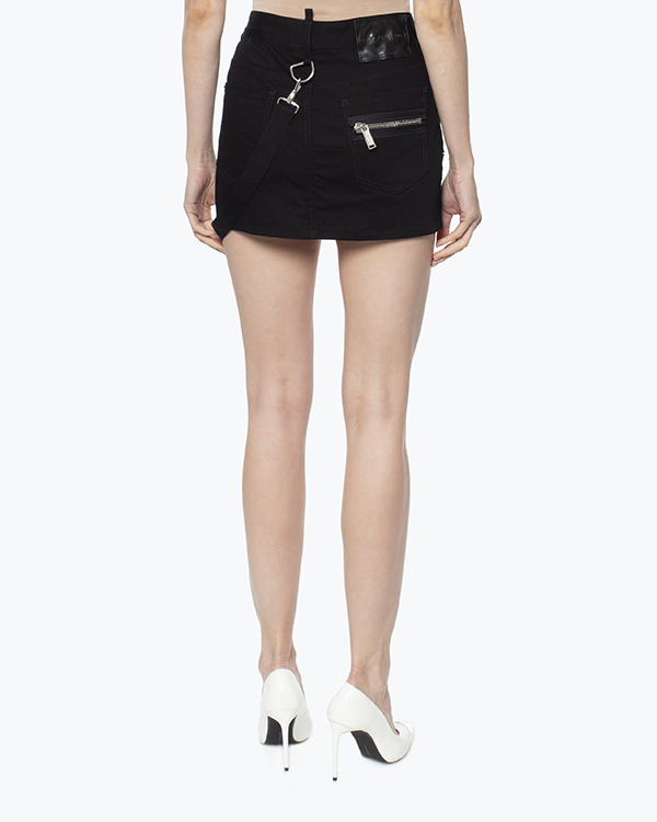 женская юбка DSQUARED, сезон: зима 2016/17. Купить за 37400 руб. | Фото 4