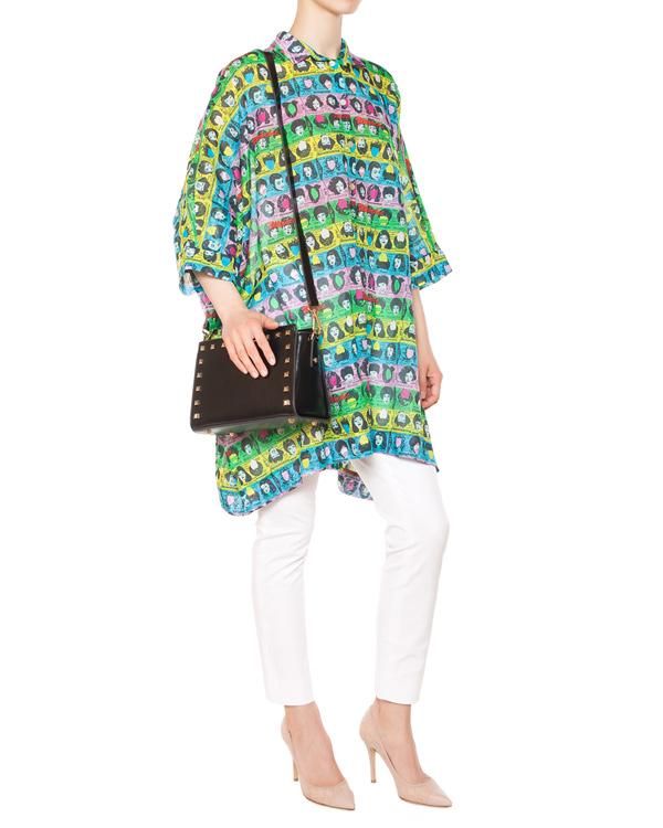 женская брюки DIANE von FURSTENBERG, сезон: лето 2015. Купить за 9200 руб. | Фото 3