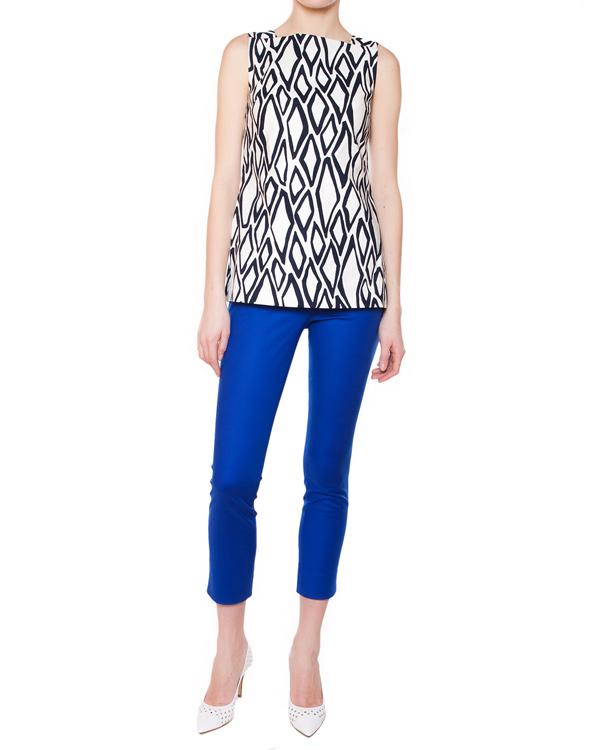 женская брюки DIANE von FURSTENBERG, сезон: лето 2015. Купить за 7900 руб. | Фото 3