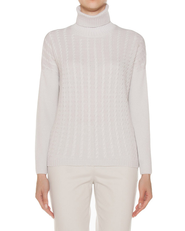 свитер узорной вязки из шерсти и кашемира артикул S99221F07 марки Peserico купить за 29100 руб.