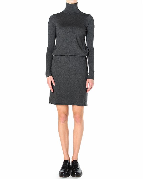 платье прямого силуэта, со стяжкой по линии бедер артикул SELINE550506 марки P.A.R.O.S.H. купить за 11100 руб.