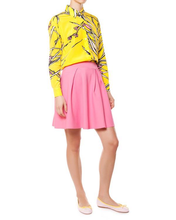 женская рубашка P.A.R.O.S.H., сезон: лето 2015. Купить за 14500 руб. | Фото $i