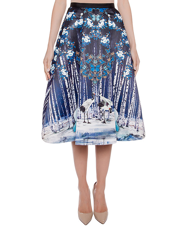 юбка из тонкого неопрена с 3D рисунком артикул SK227 марки RARY купить за 17700 руб.