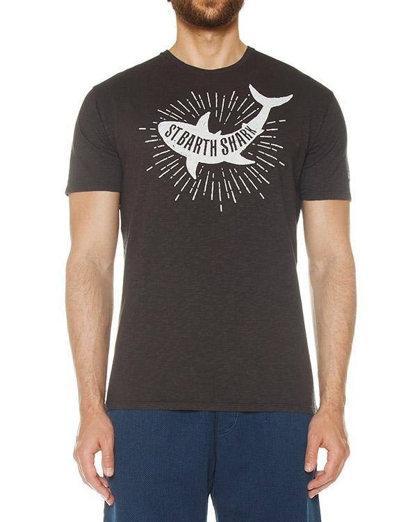 футболка  артикул SKYLAR марки MC2 Saint Barth купить за 4600 руб.