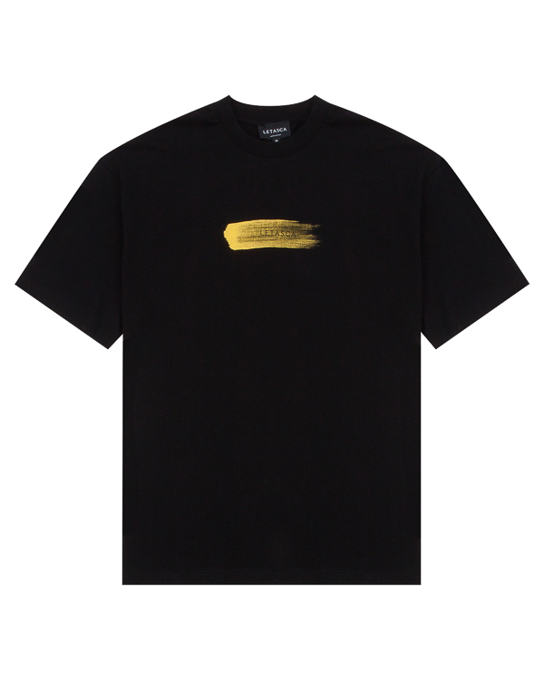 футболка из высококачественного хлопка с принтом артикул SPRTEE01 марки Letasca купить за 11200 руб.