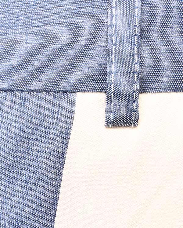 женская брюки Maison Kitsune, сезон: лето 2014. Купить за 7200 руб. | Фото 4