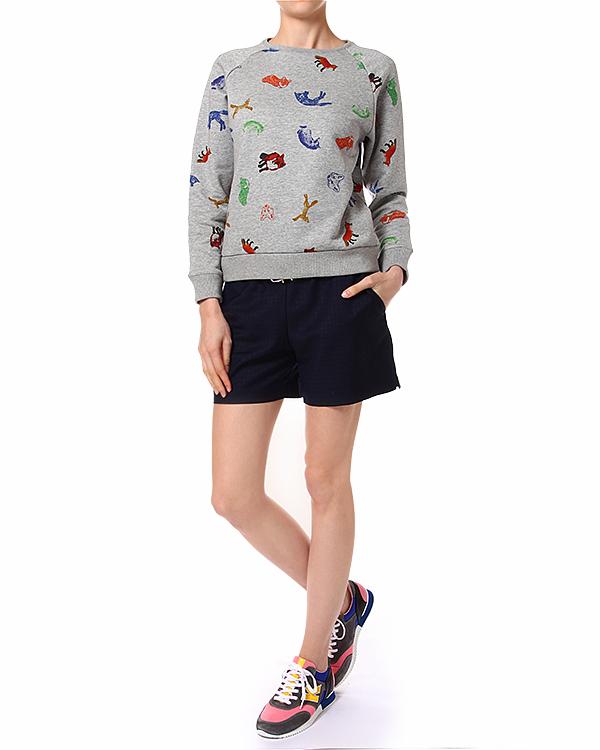 женская шорты Maison Kitsune, сезон: лето 2014. Купить за 14400 руб. | Фото 3
