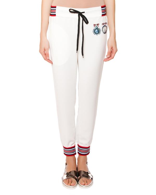 брюки из хлопкового трикотажа с принтом артикул SS1579 марки AVTANDIL купить за 12000 руб.