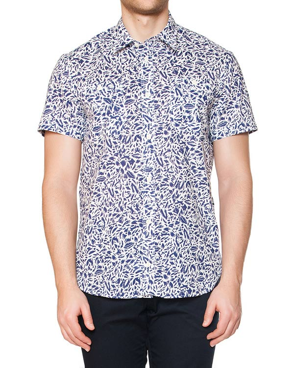 мужская рубашка Maison Kitsune, сезон: лето 2015. Купить за 7300 руб. | Фото 1
