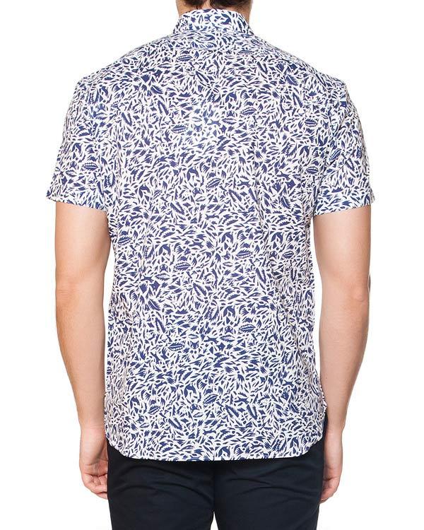мужская рубашка Maison Kitsune, сезон: лето 2015. Купить за 7300 руб. | Фото $i