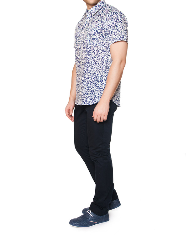 мужская рубашка Maison Kitsune, сезон: лето 2015. Купить за 7300 руб. | Фото 3