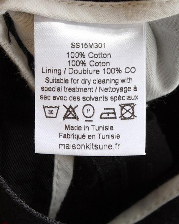 мужская брюки Maison Kitsune, сезон: лето 2015. Купить за 5800 руб. | Фото 5