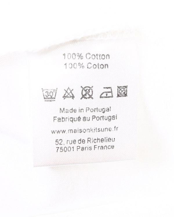 мужская футболка Maison Kitsune, сезон: лето 2015. Купить за 5300 руб. | Фото 5