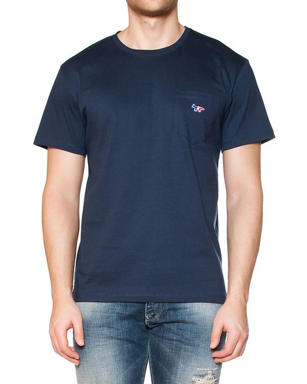 мужская футболка Maison Kitsune, сезон: лето 2015. Купить за 3400 руб. | Фото 1