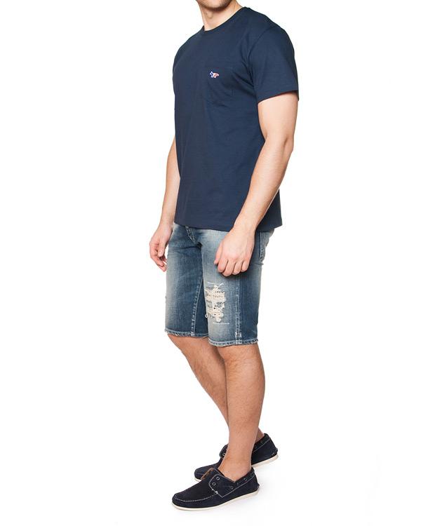 мужская футболка Maison Kitsune, сезон: лето 2015. Купить за 3400 руб. | Фото 3