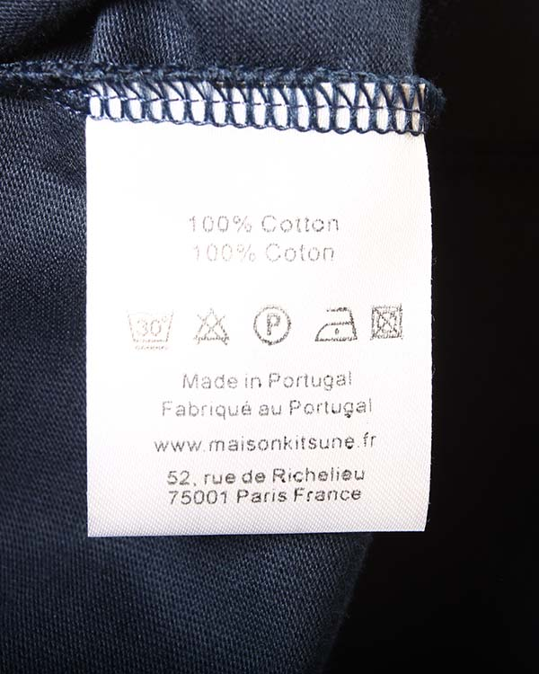 мужская футболка Maison Kitsune, сезон: лето 2015. Купить за 3400 руб. | Фото $i