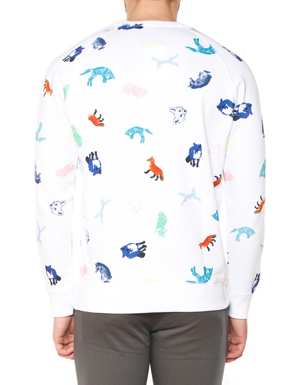 мужская свитшот Maison Kitsune, сезон: лето 2015. Купить за 6900 руб. | Фото $i