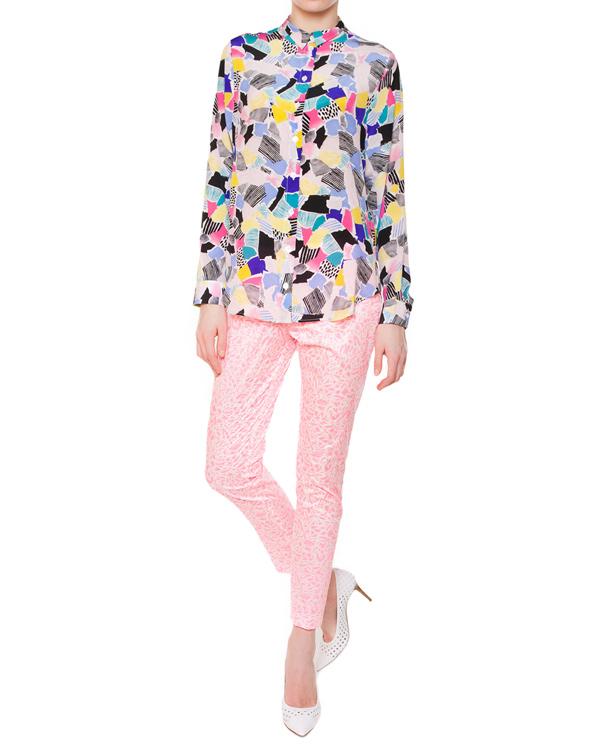 женская рубашка Maison Kitsune, сезон: лето 2015. Купить за 11500 руб. | Фото 3