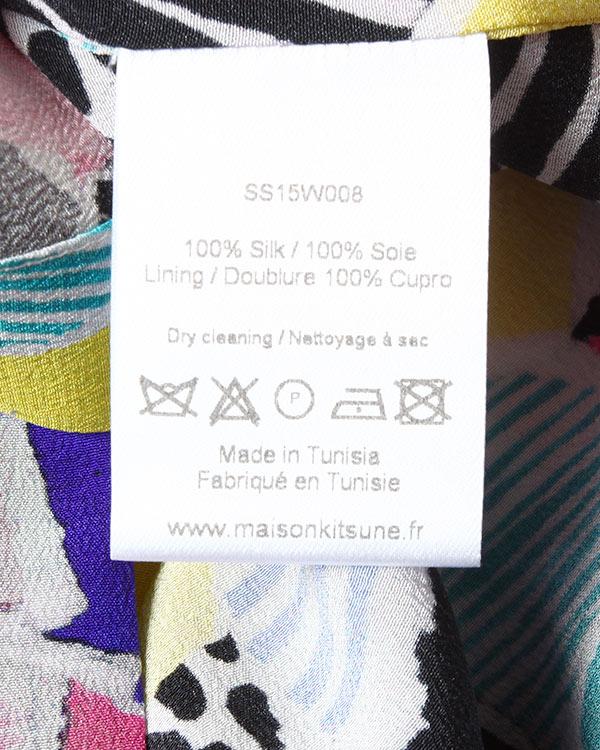 женская рубашка Maison Kitsune, сезон: лето 2015. Купить за 11500 руб. | Фото 5