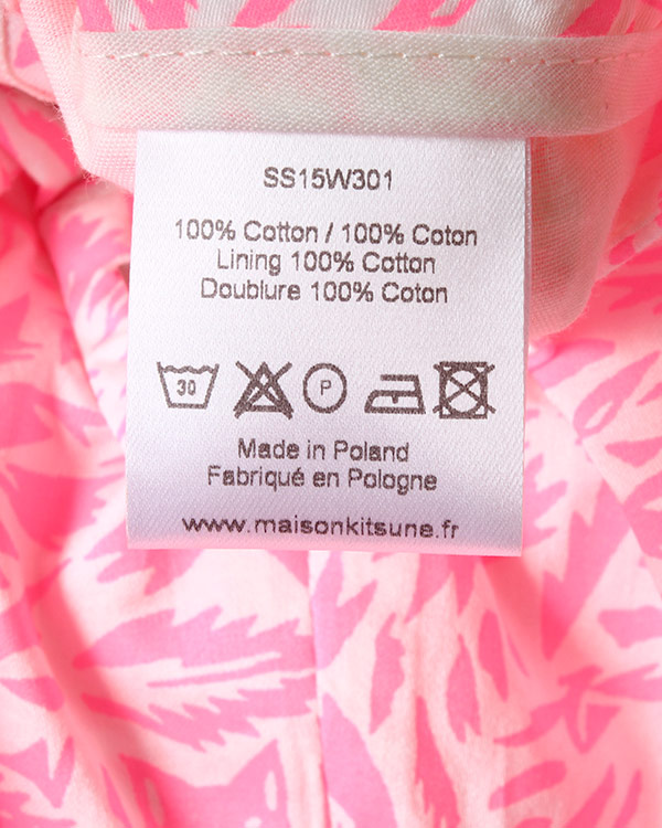 женская брюки Maison Kitsune, сезон: лето 2015. Купить за 8500 руб. | Фото $i