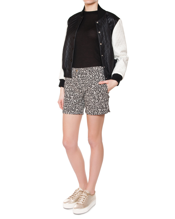 женская шорты Maison Kitsune, сезон: лето 2015. Купить за 6800 руб. | Фото 3