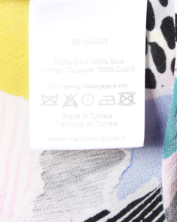 женская платье Maison Kitsune, сезон: лето 2015. Купить за 17300 руб. | Фото 5
