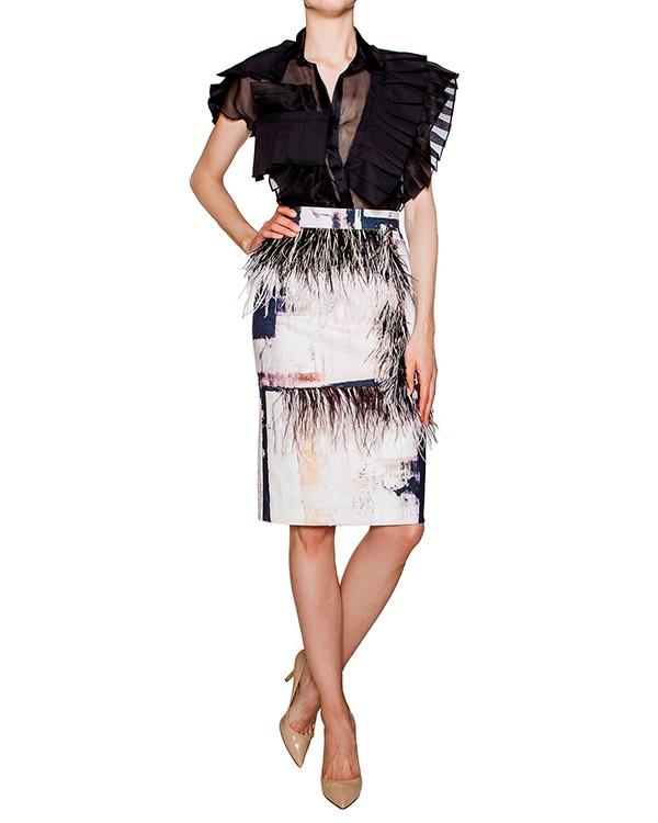 женская юбка AVTANDIL, сезон: лето 2016. Купить за 24300 руб. | Фото 3