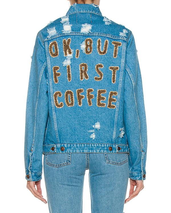 женская куртка Forte Couture, сезон: лето 2017. Купить за 17800 руб. | Фото $i