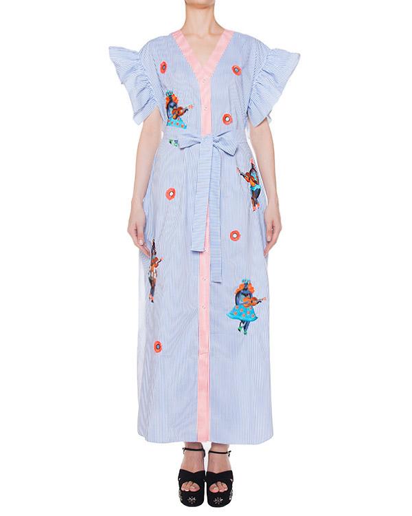 платье  артикул SS17314womenpattern марки KATЯ DOBRЯKOVA купить за 24700 руб.