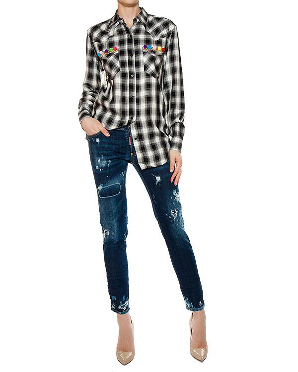 женская рубашка Forte Couture, сезон: лето 2017. Купить за 13300 руб. | Фото $i