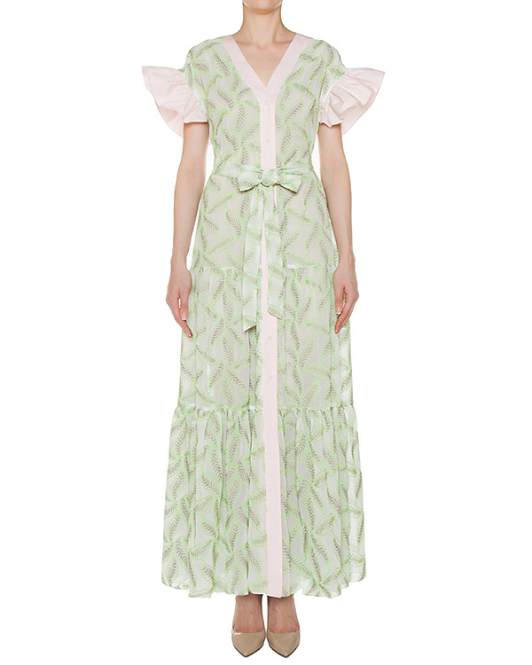 платье  артикул SS17345greenleaves марки KATЯ DOBRЯKOVA купить за 29900 руб.