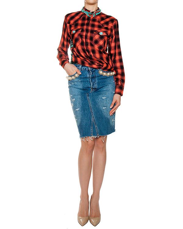 женская рубашка Forte Couture, сезон: лето 2017. Купить за 13500 руб. | Фото $i