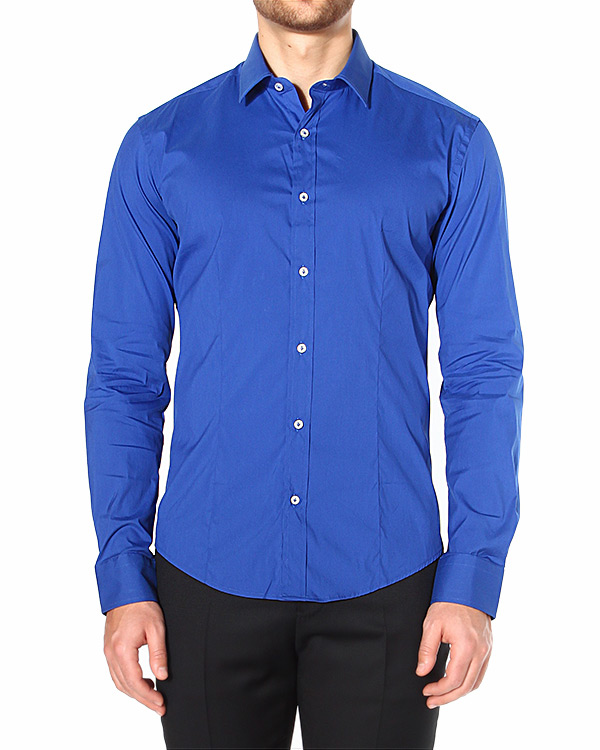 рубашка приталенная, из легкого эластичного хлопка артикул ST5400 марки Brian Dales купить за 4100 руб.