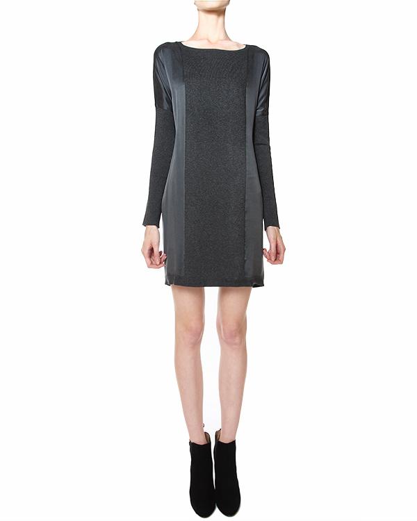 платье с вертикальными шелковыми вставками артикул STELLINE500526 марки P.A.R.O.S.H. купить за 15200 руб.