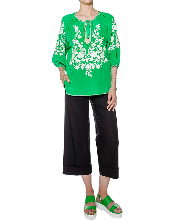 женская блуза P.A.R.O.S.H., сезон: лето 2016. Купить за 13600 руб. | Фото 3