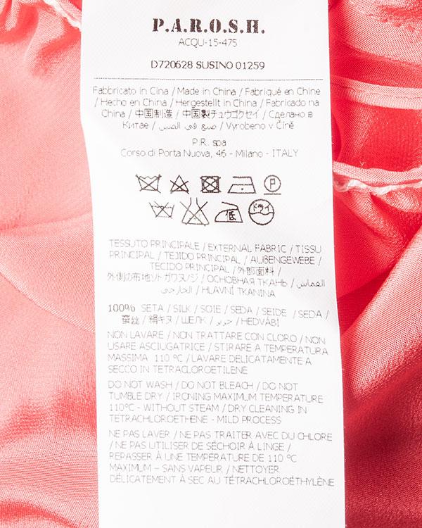 женская платье P.A.R.O.S.H., сезон: лето 2016. Купить за 17800 руб. | Фото 5