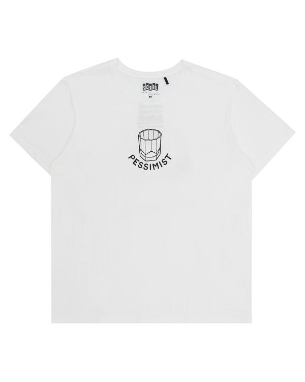 футболка из хлопка с арт-принтом  артикул T17F39 марки The ART of SCRIBBLE купить за 3300 руб.
