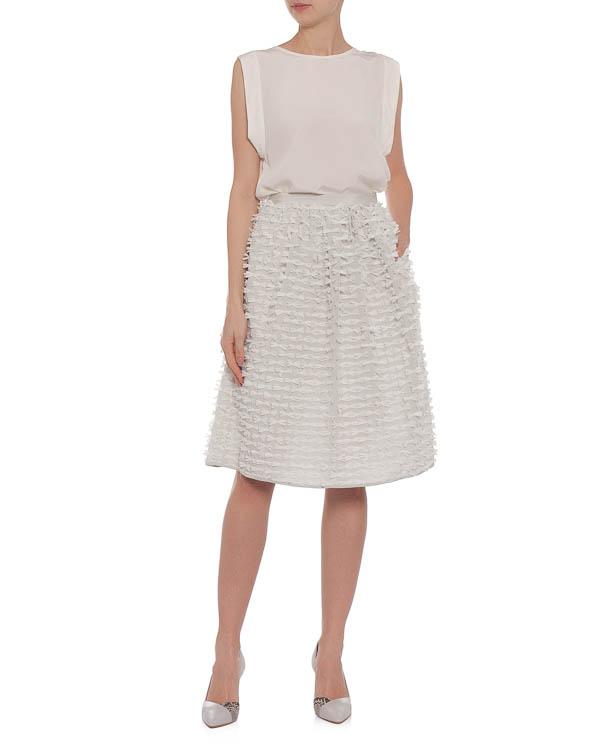 женская юбка TIBI, сезон: лето 2015. Купить за 22600 руб. | Фото 3