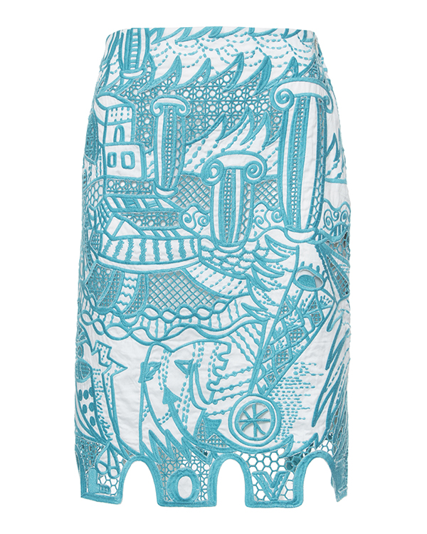 женская юбка Tsumori Chisato, сезон: лето 2015. Купить за 27700 руб. | Фото 1